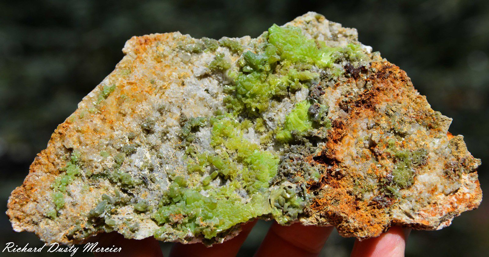 Pyromorphite from Daoping Mine, Gongcheng County, Guangxi Zhuang Autonomous Region, China