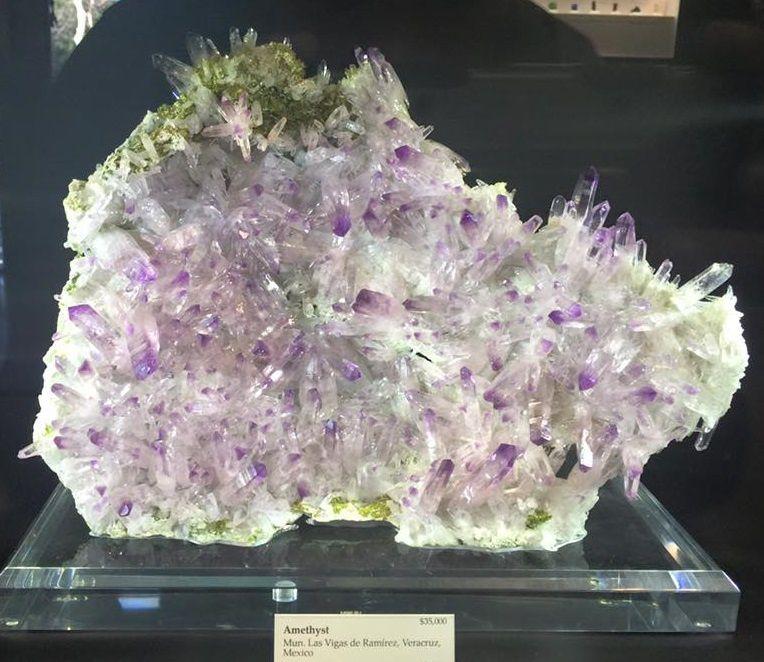 Amethyst from Veracruz, Mexico (Tucson Show)