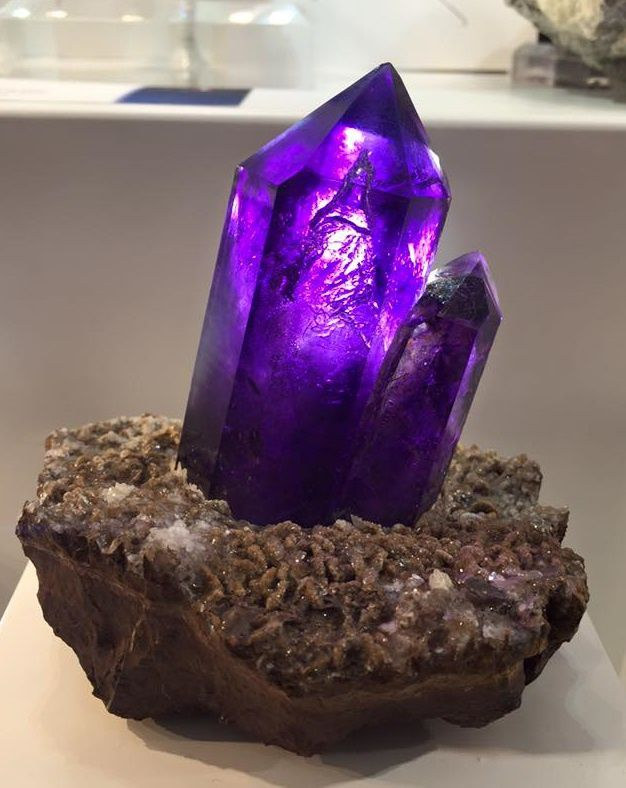Amethyst from Namibia (Tucson Show)