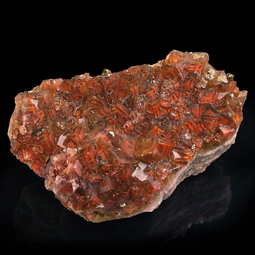 Red Fluorite from Saxony (private collection)
