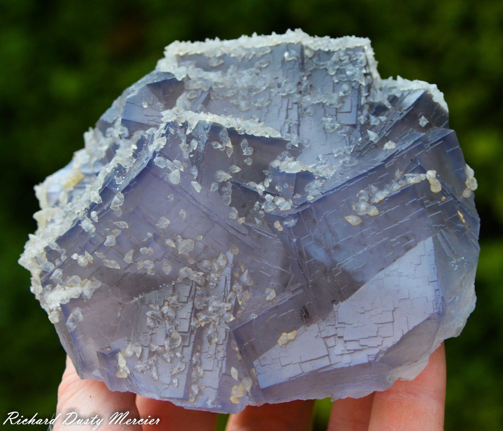 Fluorite from Ghuwai Mine, Loralai District, Balochistan, Pakistan
