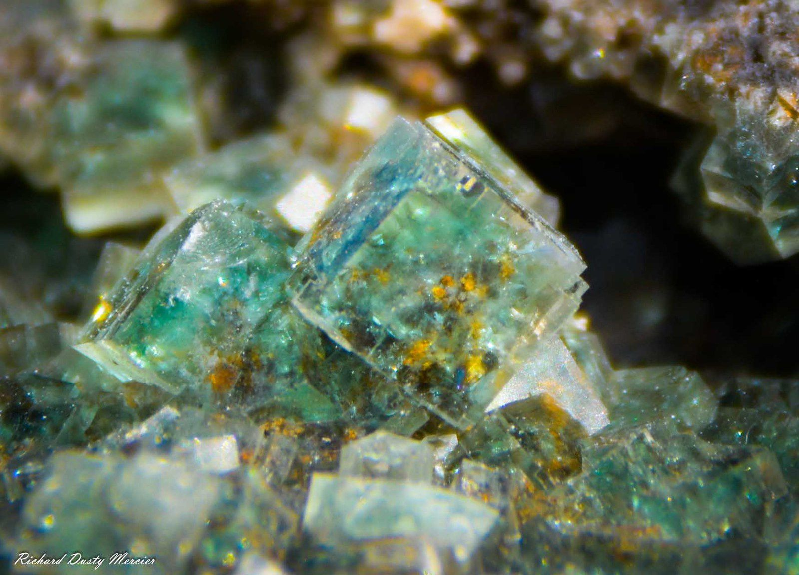 Fluorite from Okorusu Mine, Otjiwarongo Region, Karibib District, Namibia
