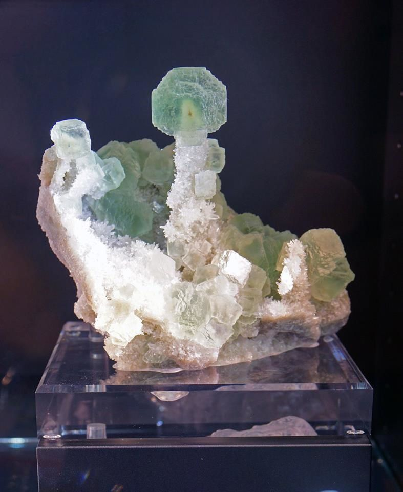 Fluorite Quartz from Shangbao mine, China (Tucson Show)