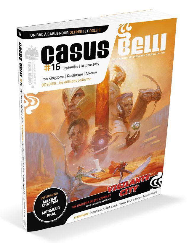 Casus Belli n°16 disponible en boutiques