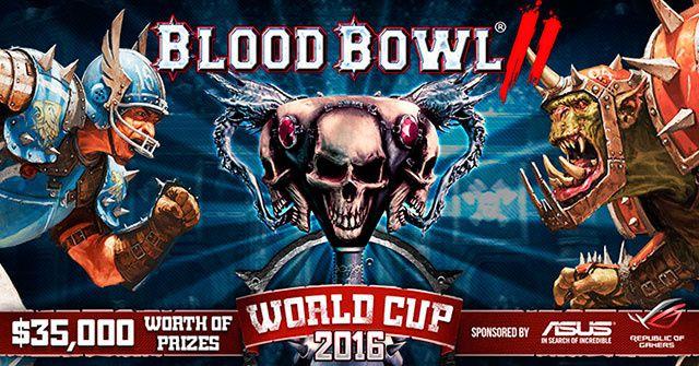 La Coupe du Monde de Blood Bowl est ouverte !