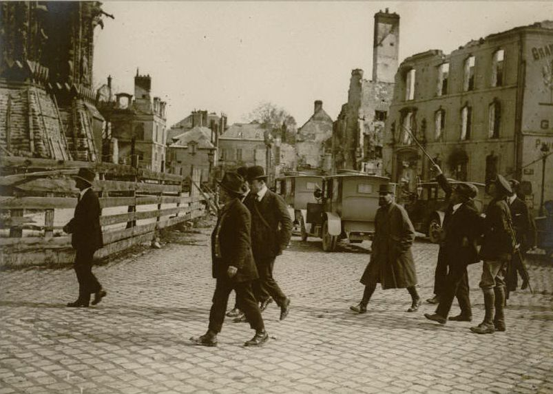 Le 7 et 8 mai 1918, mission du Labour Party américain