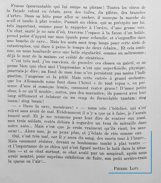 Pierre Loti à Reims - 2 -   25 et 26 août 1915