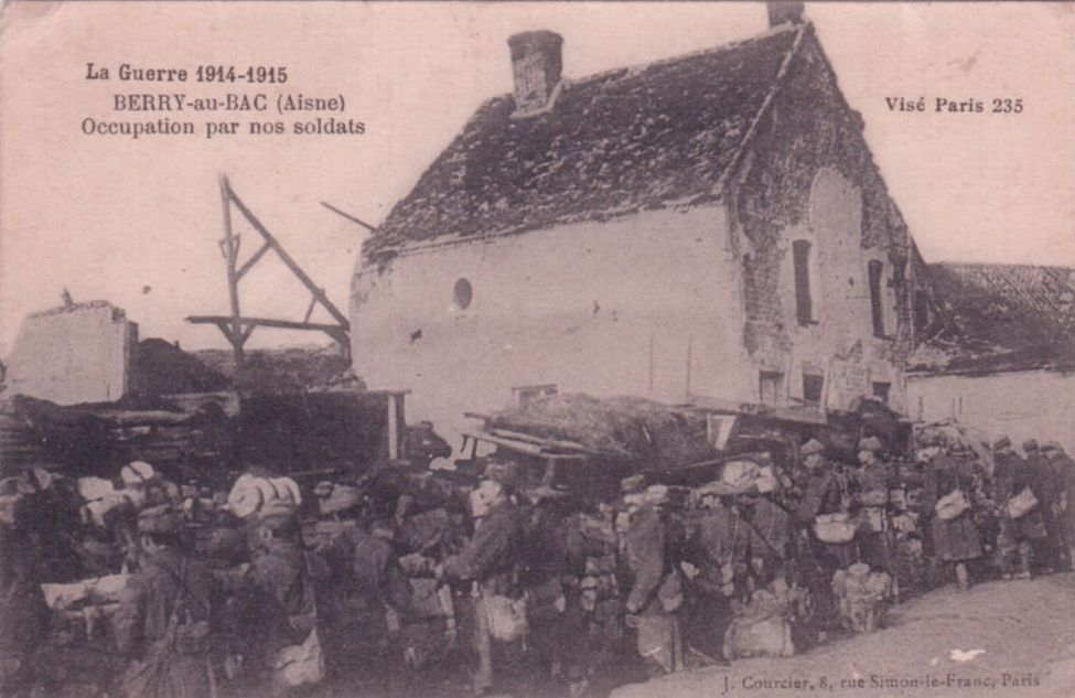 Lundi 15 février 1915. Tout le reste de la journée et toute la nuit canonnade dans la direction de Berry-au-Bac