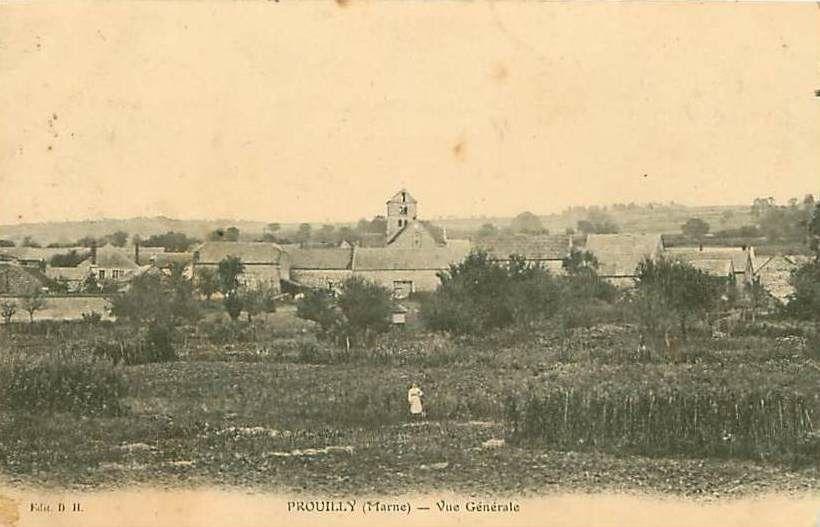 Mardi 21 mars 1915. Visite à Prouilly manquée, faute de voiture
