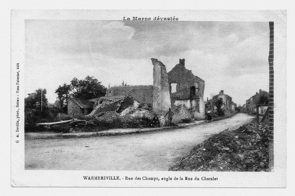 Heutrégiville et Warmeriville en 1914-1918