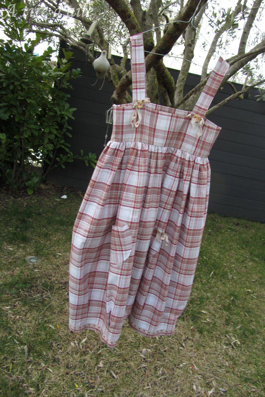 Deux robes pour un même tissu