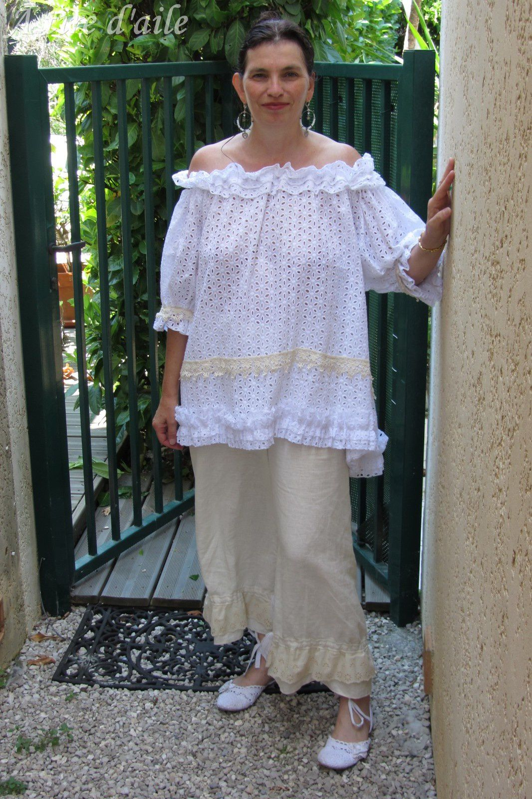 Ma belle chemise blanche