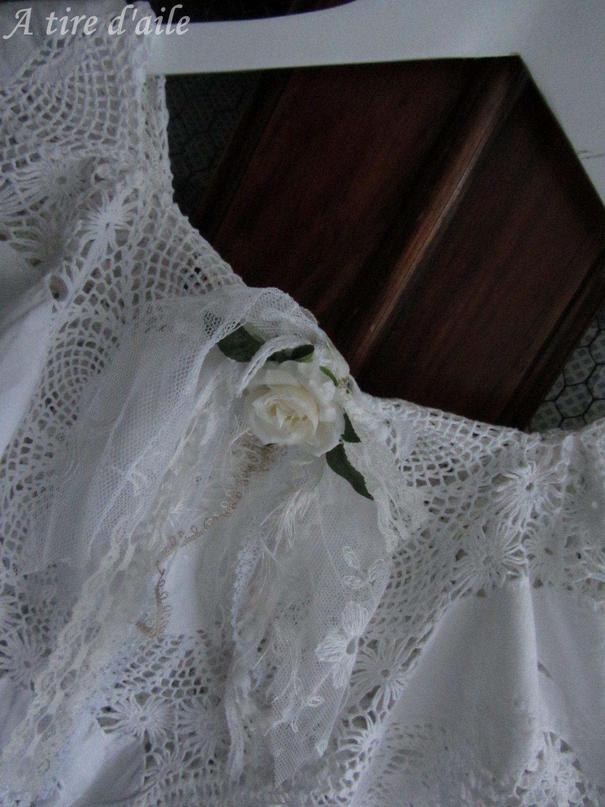 Mon cache-épaules romantique