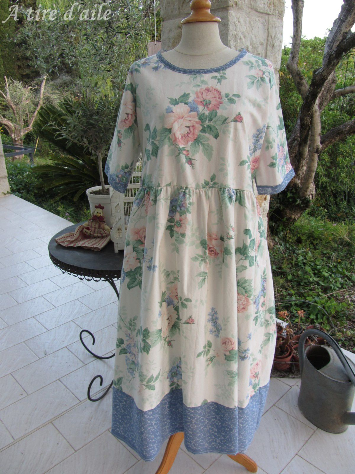 Trois belles robes shabby chic ! - A tire - d\'aile