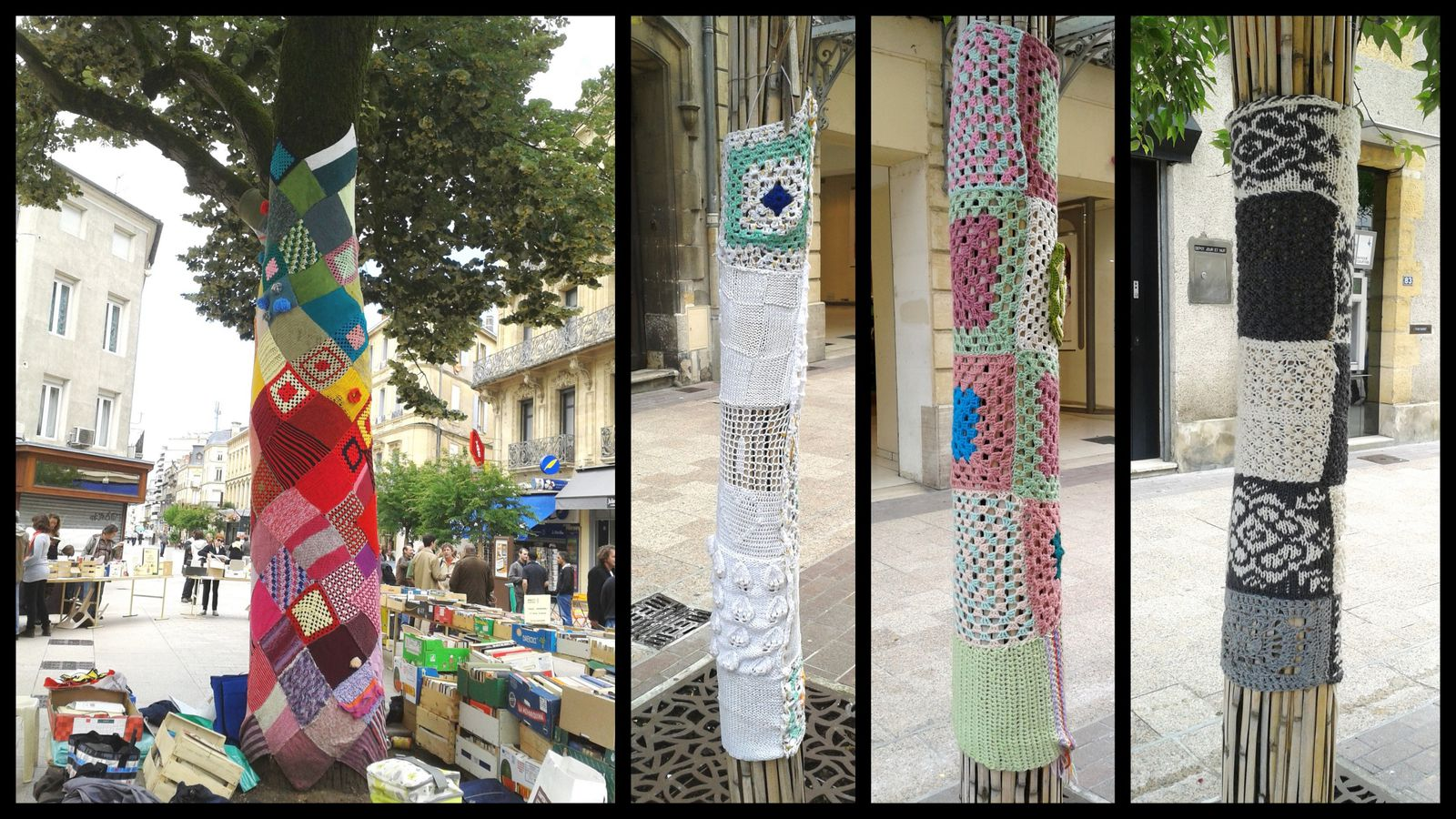 Yarn Bombing à Agen