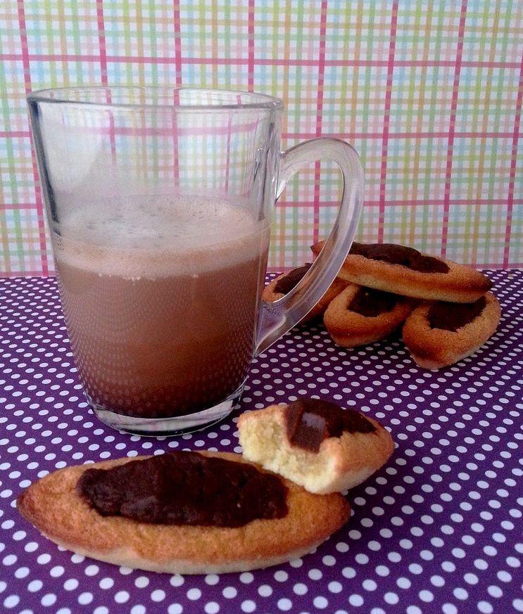 Barquettes au chocolat façon LU (sans gluten)