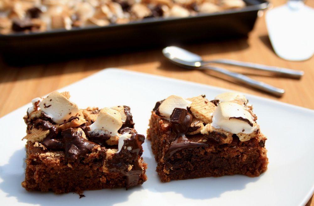 Brownie S'mores (à la guimauve et chocolat)