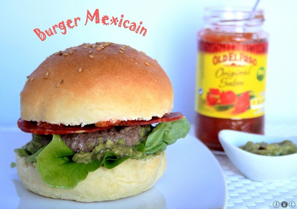 Burger mexicain
