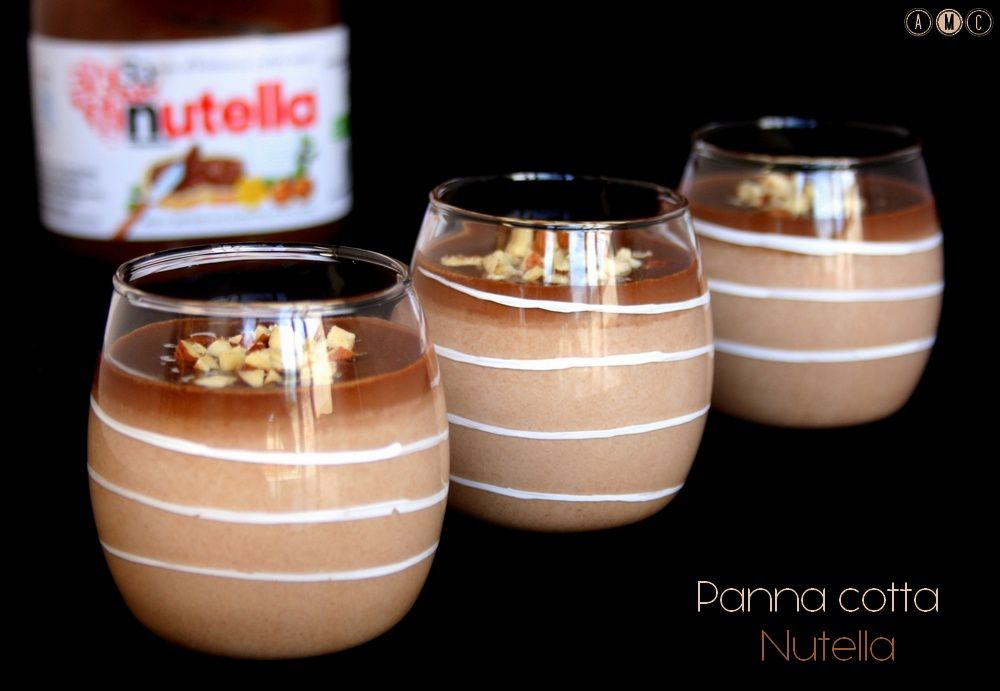 Panna cotta Nutella