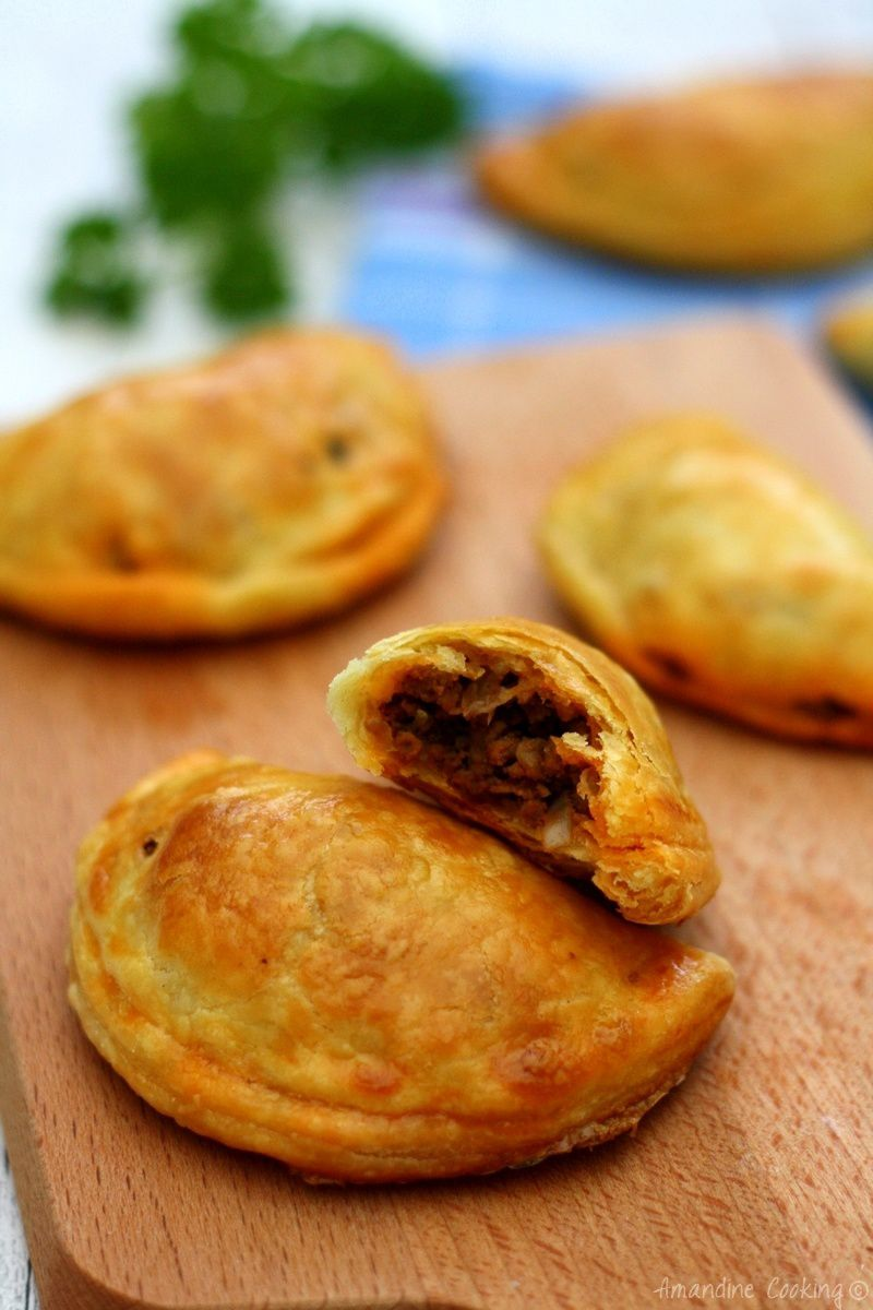 Empanadas au boeuf épicé