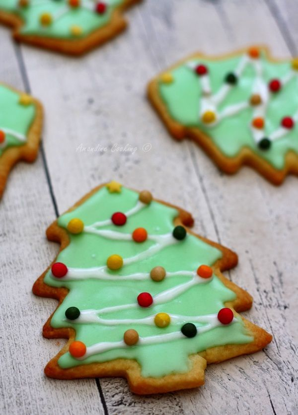Biscuits &quot&#x3B;sapin de Noël&quot&#x3B;