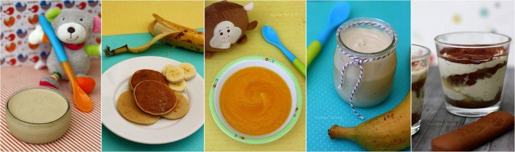 Sommaire des recettes pour bébés