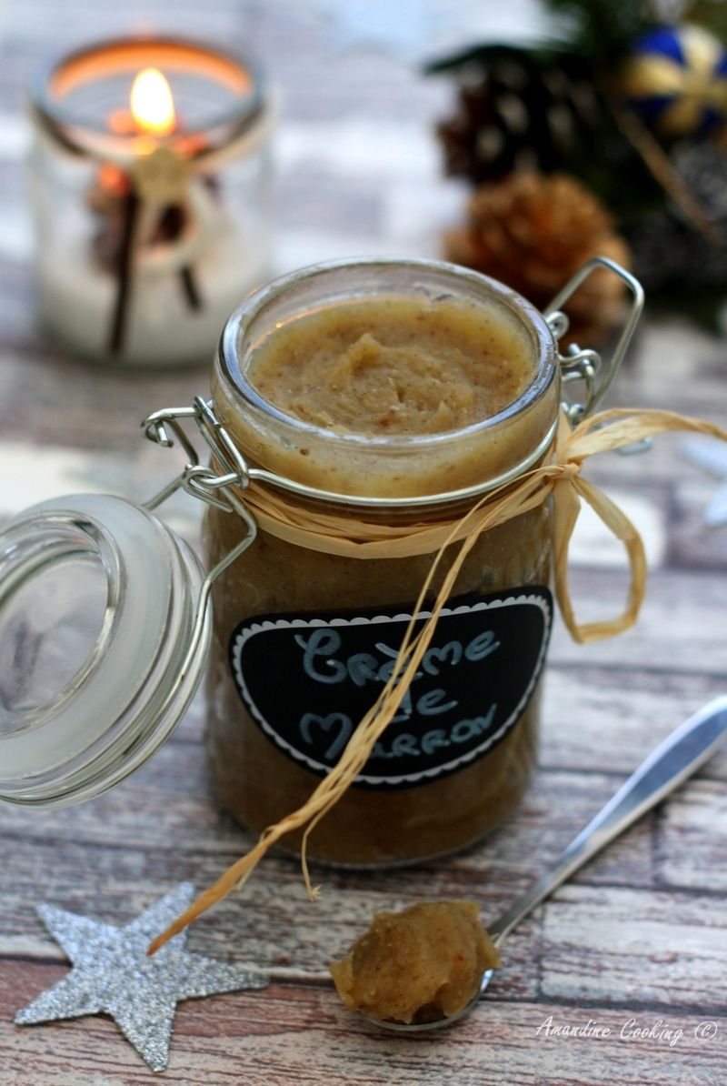 Crème de marrons maison