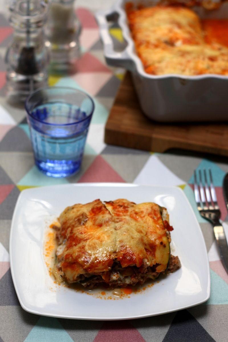 gratin de courgettes fa on lasagne amandine cooking. Black Bedroom Furniture Sets. Home Design Ideas