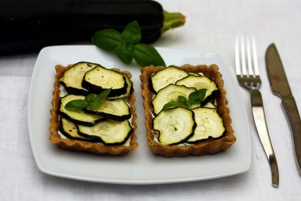 tarte la courgette ricotta et basilic amandine cooking. Black Bedroom Furniture Sets. Home Design Ideas