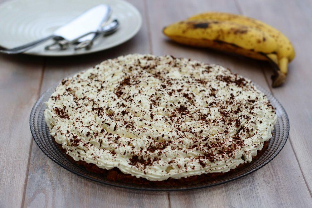 Banoffee pie (tarte à la banane sans cuisson)