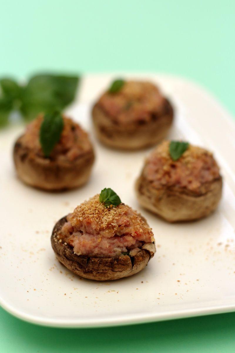 Mini Cake Pesto Basilic Bacon