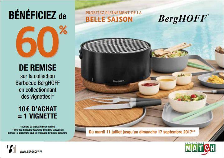Retrouvez la gamme barbecue Berghoff chez les Supermarchés Match