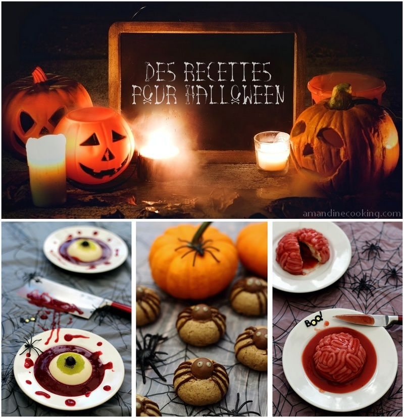 mes recettes pour halloween amandine cooking. Black Bedroom Furniture Sets. Home Design Ideas