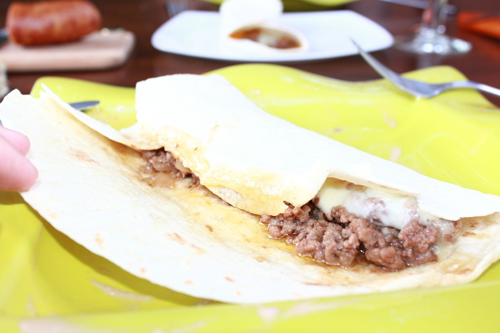 TORTILLAS BOEUF/FROMAGE