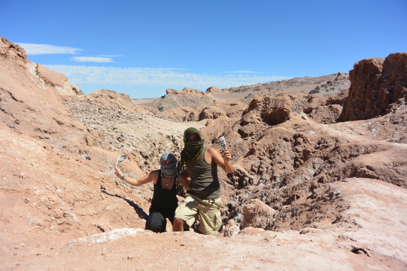 CHILI : dans la vallée de la lune à San Pedro de Atacama