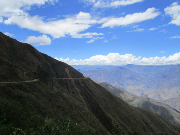 De Cajamarca à Chachapoyas (Pérou)