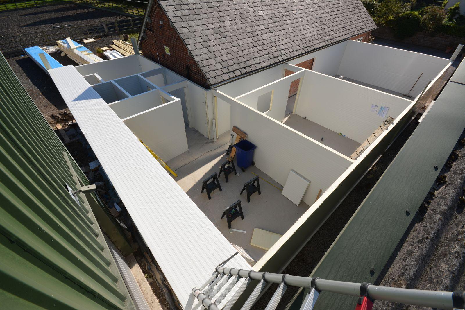 Extension de bureaux en kit pour Box-It UK - Chester
