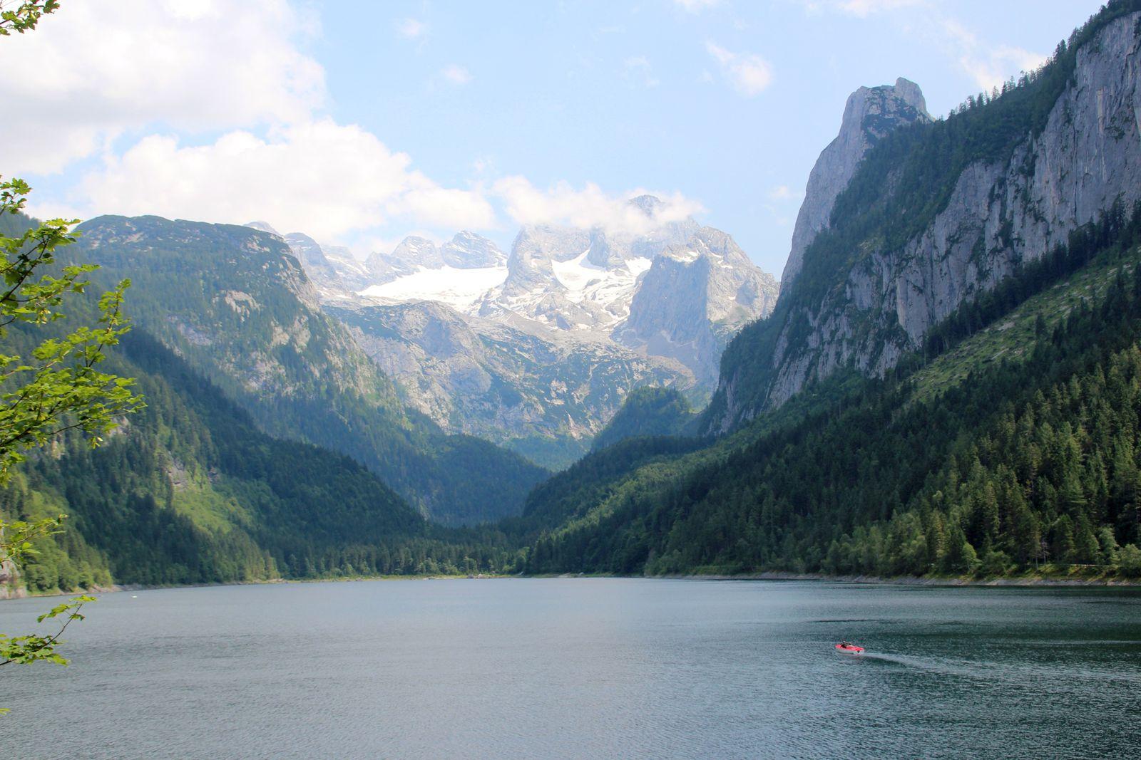 Laserer Alpin Klettersteig : 13.07.13 laserer alpin klettersteig mit vorderer gosausee wanderung