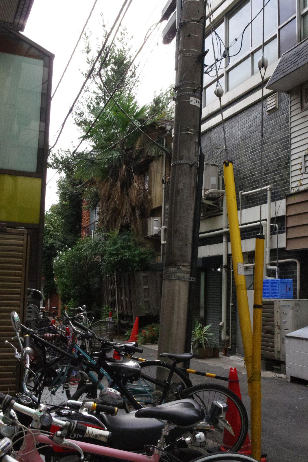 dans la rue à Tokyo