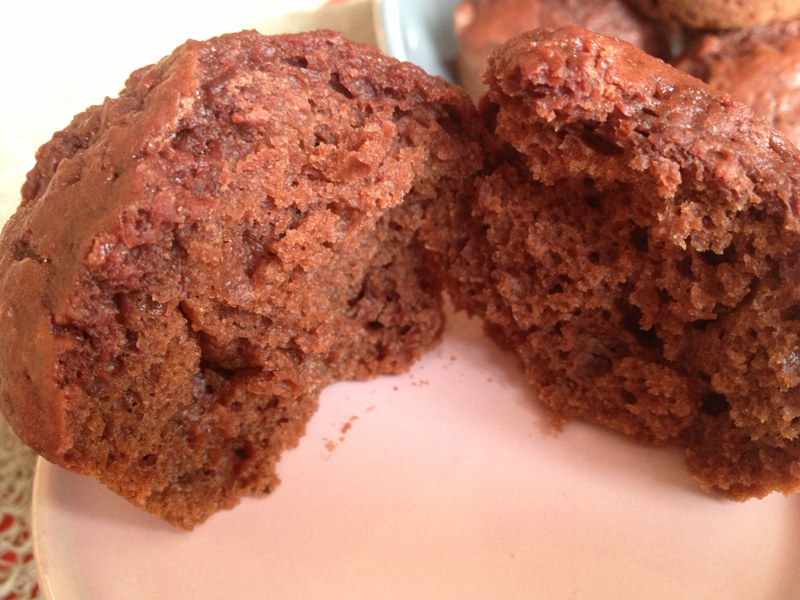 Muffins choco-betterave