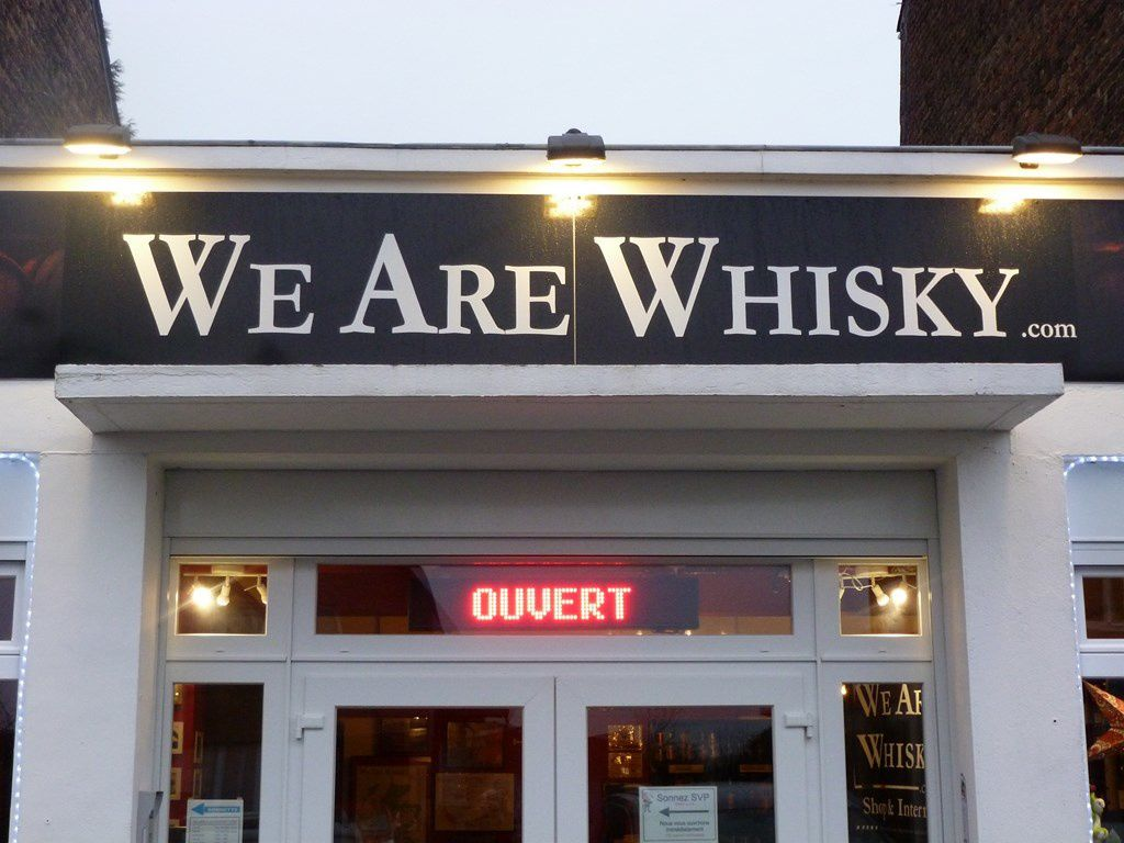 Focus sur la boutique We Are Whisky (Orp-Jauche)