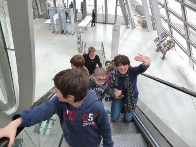 VISITE AU MUSEE DES CONFLUENCES A LYON CHEVALIERS