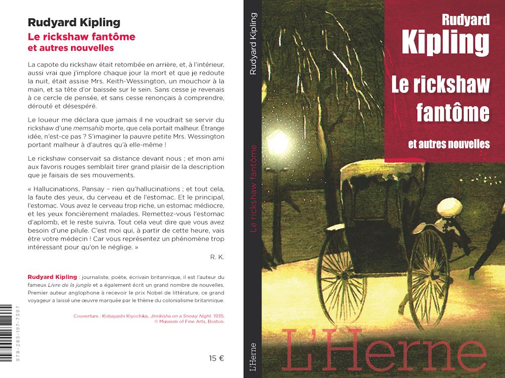 Le rickshaw fantôme et autres nouvelles de Rudyard Kipling