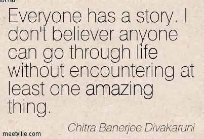 L'Histoire la plus incroyable de votre vie de Chitra Banerjee Divakaruni