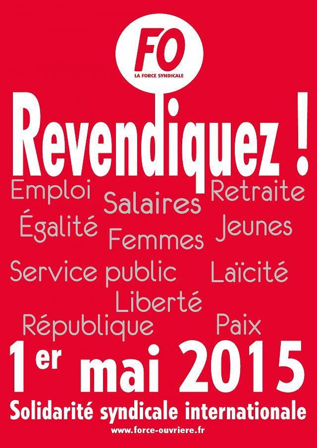 1er MAI 2015 RETRAIT DU PACTE DE RESPONSABILITE RETRAIT DE LA LOI MACRON