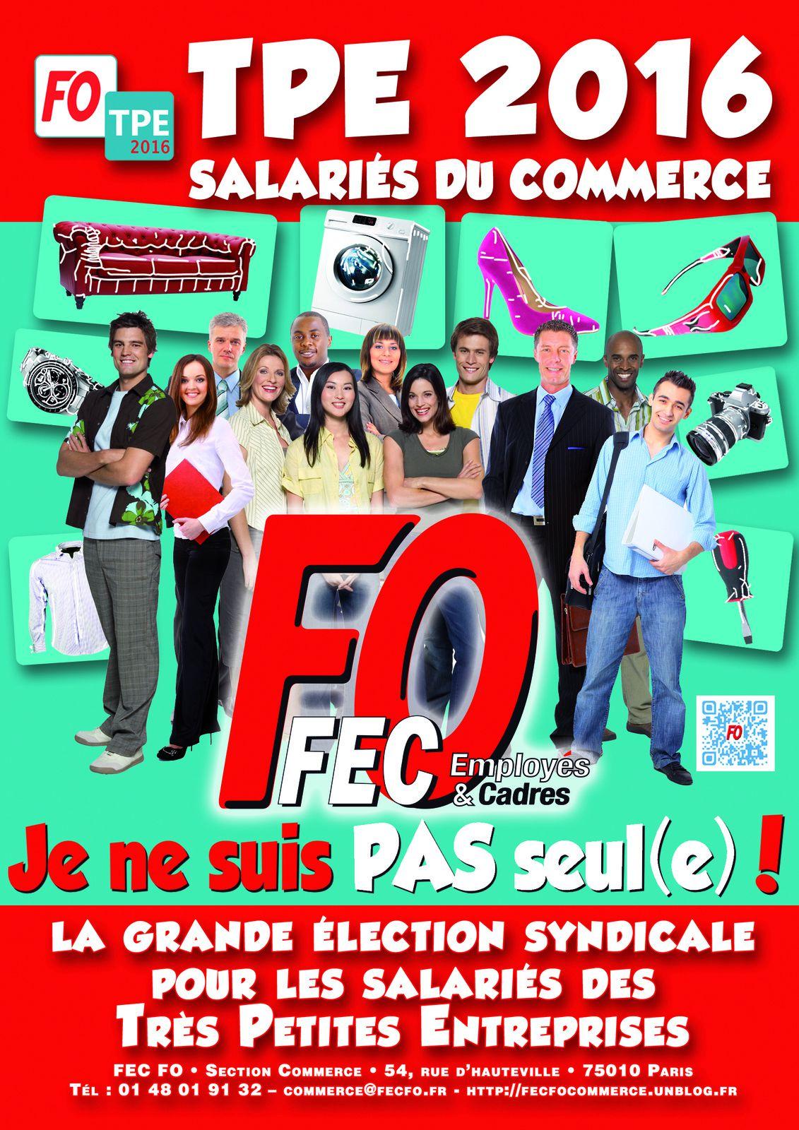 élection dans les TPE du Commerce de l'Essonne