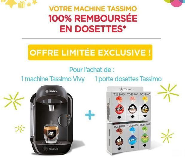 une machine caf tassimo 100 rembours e l 39 astucieux du net. Black Bedroom Furniture Sets. Home Design Ideas