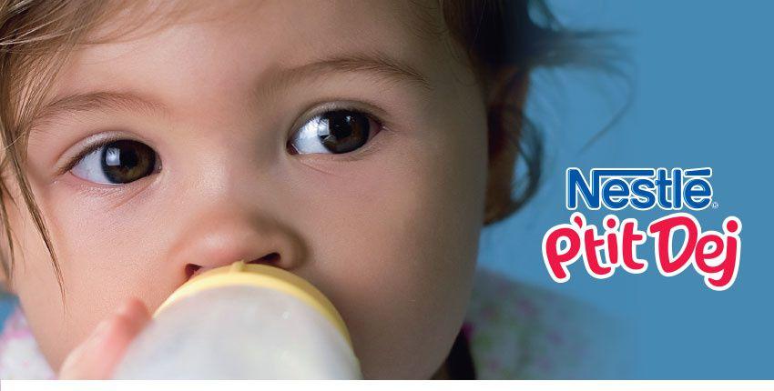 Parents : testez gratuitement Nestlé P'tit Déj !
