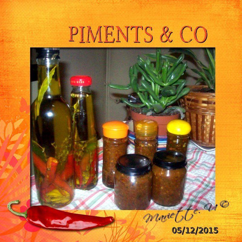 Piments &amp&#x3B; Co