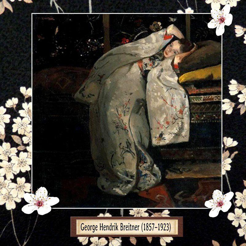 Le kimono représenté en peinture